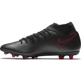 Buty piłkarskie Nike Mercurial Superfly 7 Club FG/MG AT7949 060 czarne czarny,czerwony 2