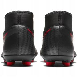 Buty piłkarskie Nike Mercurial Superfly 7 Club FG/MG AT7949 060 czarne czarny,czerwony 4