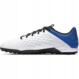 Buty piłkarskie Nike Tiempo Legend 8 Academy Tf AT6100 104 niebieskie białe 2