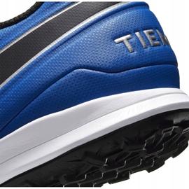 Buty piłkarskie Nike Tiempo Legend 8 Academy Tf AT6100 104 niebieskie białe 5