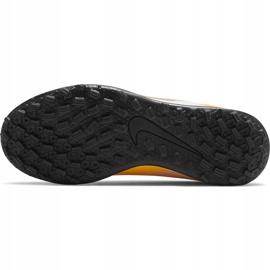 Buty piłkarskie Nike Mercurial Vapor 13 Club Tf Junior AT8177 801 pomarańczowe żółte 8