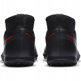 Buty piłkarskie Nike Mercurial Superfly 7 Club Tf Junior AT8156 060 czarne czarne 4