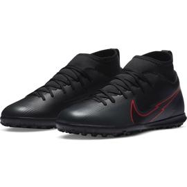 Buty piłkarskie Nike Mercurial Superfly 7 Club Tf Junior AT8156 060 czarne czarne 3
