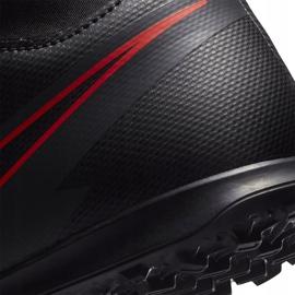 Buty piłkarskie Nike Mercurial Superfly 7 Club Tf Junior AT8156 060 czarne czarne 6