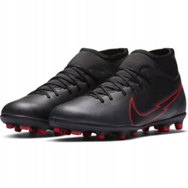 Buty piłkarskie Nike Mercurial Superfly 7 Club FG/MG Junior AT8150 060 czarne czarne 3