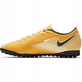 Buty piłkarskie Nike Mercurial Vapor 13 Academy Tf AT7996 801 pomarańczowe pomarańczowe 2