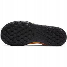 Buty piłkarskie Nike Mercurial Vapor 13 Club Tf PS(V) Junior AT8178 801 pomarańczowy, zółty żółte 1