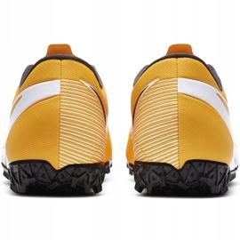 Buty piłkarskie Nike Mercurial Vapor 13 Academy Tf AT7996 801 pomarańczowe pomarańczowe 4