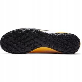 Buty piłkarskie Nike Mercurial Vapor 13 Academy Tf AT7996 801 pomarańczowe pomarańczowe 6
