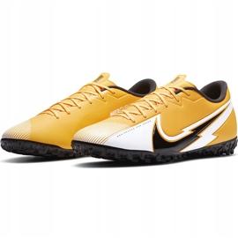 Buty piłkarskie Nike Mercurial Vapor 13 Academy Tf AT7996 801 pomarańczowe pomarańczowe 3