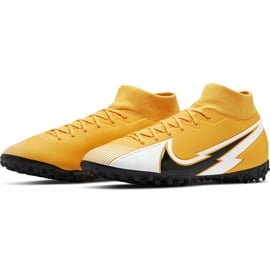 Buty piłkarskie Nike Mercurial Superfly 7 Academy Tf AT7978 801 pomarańczowe pomarańczowe 3