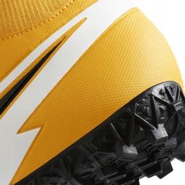 Buty piłkarskie Nike Mercurial Superfly 7 Academy Tf AT7978 801 pomarańczowe pomarańczowe 6