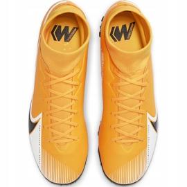 Buty piłkarskie Nike Mercurial Superfly 7 Academy Tf AT7978 801 pomarańczowe pomarańczowe 1