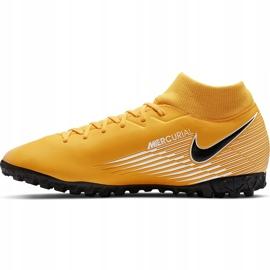Buty piłkarskie Nike Mercurial Superfly 7 Academy Tf AT7978 801 pomarańczowe pomarańczowe 2