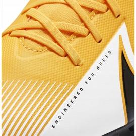 Buty piłkarskie Nike Mercurial Superfly 7 Academy Tf AT7978 801 pomarańczowe pomarańczowe 5