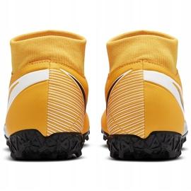 Buty piłkarskie Nike Mercurial Superfly 7 Academy Tf AT7978 801 pomarańczowe pomarańczowe 4