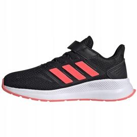 Buty dla dzieci adidas Runfalcon C czarne FW5138 3