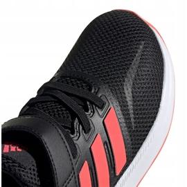 Buty dla dzieci adidas Runfalcon C czarne FW5138 2