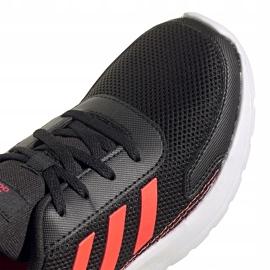 Buty dla dzieci adidas Tensaur Run K czarne FV9445 4