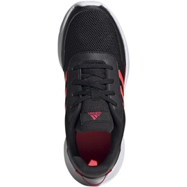 Buty dla dzieci adidas Tensaur Run K czarne FV9445 1