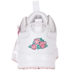 Buty dla dzieci Kappa Loretto K biało-różowe 260791K 1022 4