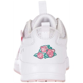 Buty dla dzieci Kappa Loretto K biało-różowe 260791K 1022 białe 4