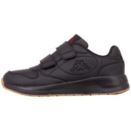 Buty dla dzieci Kappa Base K czarne 260707K 1111 2