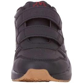 Buty dla dzieci Kappa Base K czarne 260707K 1111 3