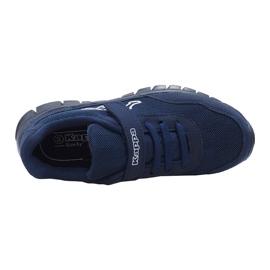 Buty dla dzieci Kappa Follow Ock granatowe 260604OCK 6710 2