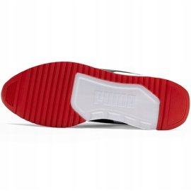 Buty męskie Puma R78 biało-niebiesko-czerwono-czarne 373117 10 białe czerwone granatowe szare 5