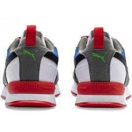 Buty męskie Puma R78 biało-niebiesko-czerwono-czarne 373117 10 białe czerwone granatowe szare 4