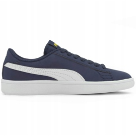 Buty dla dzieci Puma Smash v2 Buck granatowe 365182 22 1