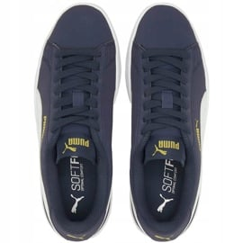Buty dla dzieci Puma Smash v2 Buck granatowe 365182 22 2