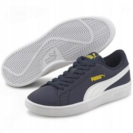 Buty dla dzieci Puma Smash v2 Buck granatowe 365182 22 3