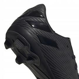 Buty piłkarskie adidas Nemeziz 19.4 FxG Junior EG3175 czarne czarne 4