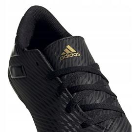 Buty piłkarskie adidas Nemeziz 19.4 FxG Junior EG3175 czarne czarne 3