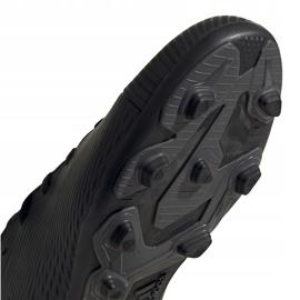 Buty piłkarskie adidas Nemeziz 19.4 FxG Junior EG3175 czarne czarne 5
