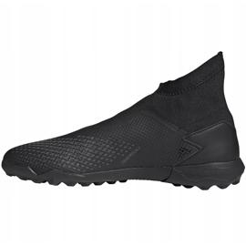 Buty piłkarskie adidas Predator 20.3 Ll Tf czarne EF1652 2
