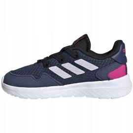 Buty dla dzieci adidas Archivo K granatowe EH0542 2