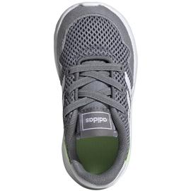 Buty dla dzieci adidas Archivo K szare EG3978 białe zielone 1