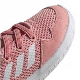 Buty dla dzieci adidas Archivo K różowe EG3980 białe niebieskie 3