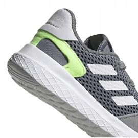 Buty dla dzieci adidas Archivo K szare EG3978 białe zielone 2