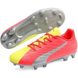 Buty piłkarskie dla dzieci Puma One 20.4 Osg Fg Ag 105973 01 żółte 3