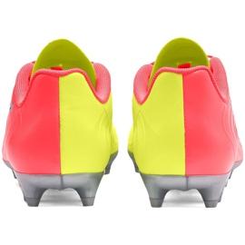 Buty piłkarskie dla dzieci Puma One 20.4 Osg Fg Ag 105973 01 żółte 4
