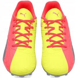Buty piłkarskie dla dzieci Puma One 20.4 Osg Fg Ag 105973 01 żółte 2