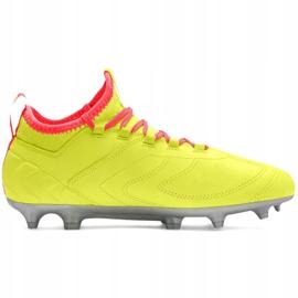 Buty piłkarskie dla dzieci Puma One 20.3 Osg Fg Ag 105972 01 czerwone 1