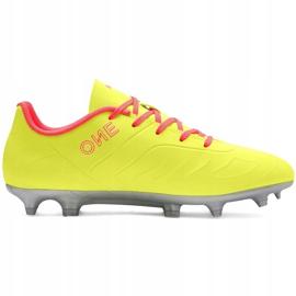Buty piłkarskie dla dzieci Puma One 20.4 Osg Fg Ag 105973 01 żółte 1
