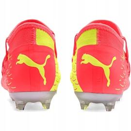Buty piłkarskie dla dzieci Puma Future 5.3 Netfit Osg Fg Ag 105947 01 żółte 4