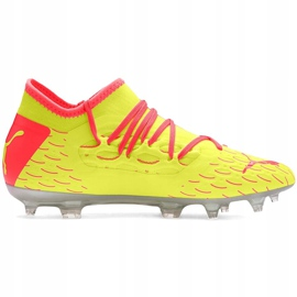 Buty piłkarskie dla dzieci Puma Future 5.3 Netfit Osg Fg Ag 105947 01 żółte 1