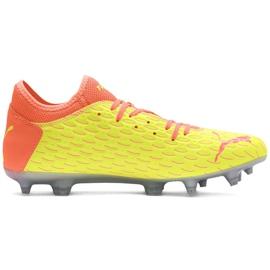 Buty piłkarskie Puma Future 5.4 Osg Fg Ag 105941 01 pomarańczowe pomarańczowe 1